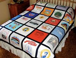 Turn Your Old T Shirts Into a Quilt! | WhoopTee & That one looks a little harder to make-- unless you're awesomely talented  at crafting, in which case, mad respect to you But here is an easier set of  ... Adamdwight.com