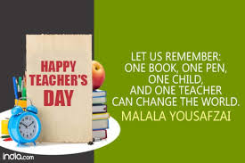 Teachers Day Quotes In English 11 Best Famous Inspirational