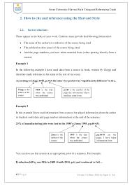 soran university harvard style of referencing and citation guide 7 soran university harvard style