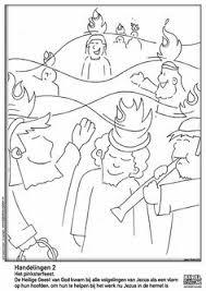 De 13 Beste Afbeelding Van Pinksteren Kleurplaten 2 Pentecost
