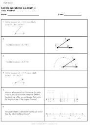 4th grade math measurement worksheets