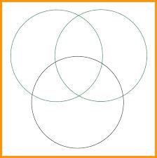 Free Venn Diagram Template With Lines Venn Diagram Template Math Diagram Template Diagrams Free To
