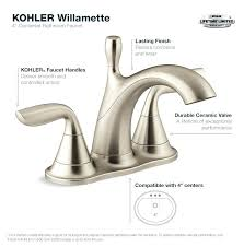 home depot tub faucets bathroom faucet in vibrant brushed nickel home depot bath faucets bronze