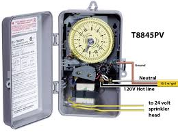 how to wire intermatic sprinkler and irrigation timers and manuals t8845pv wiring