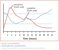 Insulin Peak Chart Canines With Diabetes Mellitus Information On Insulin