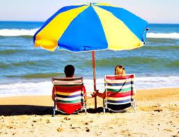 beach umbrella. Beach Umbrella