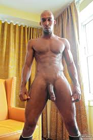 Gay black man taking big dick