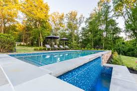 Natural looking in ground pools Mountain Lake Inground Pool Installation Pool Builders Landscape Design In Northern Va Restmeyersca Home Design Inground Pool Installation In Northern Virginia Hot Tub Spa