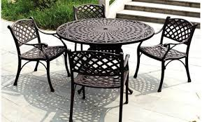 outdoor metal table. Interesting Table Inside Outdoor Metal Table A