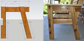 diy rustic furniture plans. Diy Rustic Furniture Plans. Side View Plans O