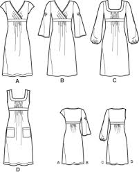 Sewing Patterns For Dresses Enchanting Simplicity 48 Knit Dresses