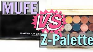 makeup forever vs z palette review