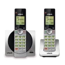 2 handset cordless phone with caller id call waiting cs6919 2 vtech cordless phones