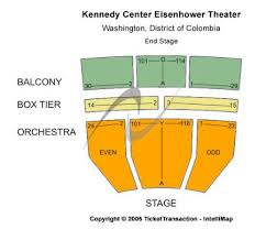 Kennedy Center Orchestra Seating Chart Kennedy Center Eisenhower Theater Seating Chart Www