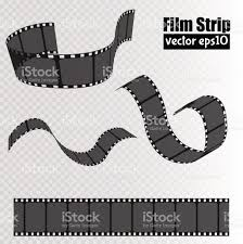 Film Template For Photos Film Isolated On Transparent Background Movie Reel Template
