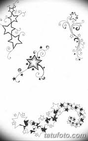 черно белый эскиз тату на бедро вариант 11032019 023 Tattoo