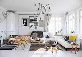 Living Room Furnishing Ideas Awesome Country Design Parquete Floor Antique  Lamps Fireplace White Fabric Sofa Carpet ...