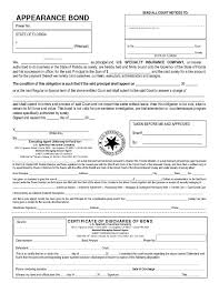 surety bond form forms surety corporation of america