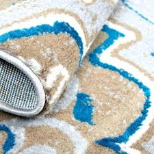 bright blue rug taupe brown area bath rugs uk
