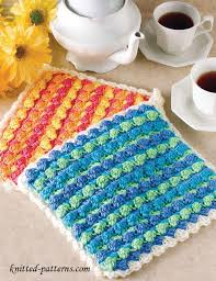 Free Crochet Potholder Patterns Extraordinary Crochet Potholder Pattern Free