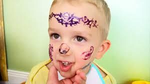 Bad Baby вредные детки плохие малыши тату на лице Face Tattoo мисс