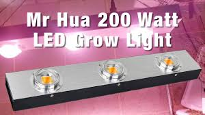 200 Watt Grow Light Mr Hua 200 Watt Cob Led Grow Light Led Grow Lights Led