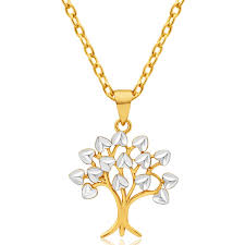 9ct yellow gold white gold tree of life pendant 10253817 jewellery shiels jewellers