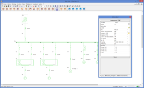 schematic diagram software trace software single line schematic import from elec calc