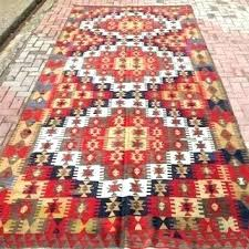 good pottery barn kilim rug and rugs large red and brown rug antique pastel carpet pottery