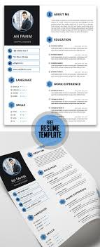 Free Resume Template For Everyone | Cv's Design | Pinterest ...