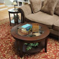 bay s collection 30 inch glass top round coffee table 30 inch glass top round coffee table