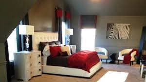 Stunning Red, Black and White Bedroom Decorating Ideas YouTube