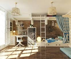 kids bed rooms design ideas with pirate ship theme loft beds bed bunk why not
