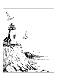 Small Picture lighthouse coloring pages Archives Best Coloring Page