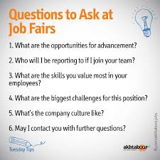 At An Overcrowded Job Fair A Successful Job Seeker Has To