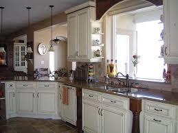 White Farmhouse Kitchen Sink Built Stoves French Country Kitchens