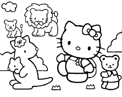 Hello Kitty Pictures To Copy Coloring Home