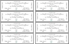 Avery Tickets Templates Raffle Ticket Template Unique Tickets Templates 8 Per Page
