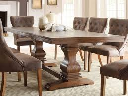 amazing brown rectangle rustic wooden sears dining table stained design hi res wallpaper pictures