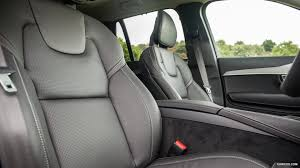 2016 volvo xc90 uk spec perforated and ventilated nappa leather seats charcoal interior detail wallpaper