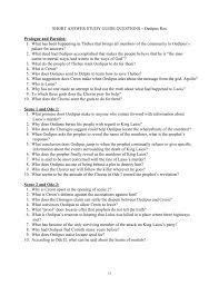 Oedipus The King Essay Topics Essay Questions