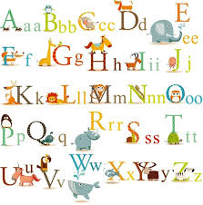Peel And Stick Wall Decor Cherrycreek Decals Stickers Classic Animals Alphabet Baby Nursery