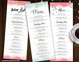 family menu template family restaurant menu aiwsolutions