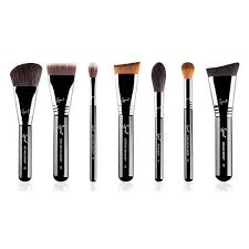 best contour brush. sigma highlight and contour brush set (4.875 uyu) ❤ liked on polyvore featuring beauty best r