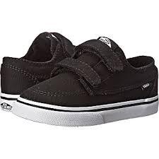 vans shoes black and white boys. vans kids brigata v (toddler) (black/true white) boys shoes black and white