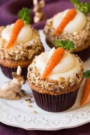 Carrot Cake Cupcakes With Cream Cheese Frosting Cooking Classy