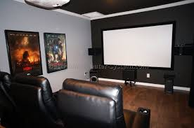 diy home theater projector screen best systems size material full size