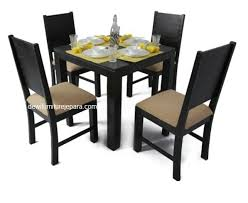 dining room table and chairs with wheels. Meja Dining Room Table And Chairs With Wheels