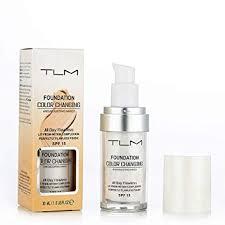amazon colour changing foundation makeup base face liquid cover concealer white beauty