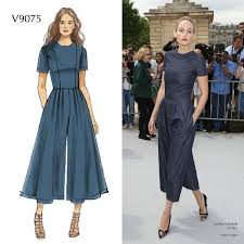 Jumpsuit Pattern Vogue Magnificent Make This Jumpsuit Out Of A Stretch Denim And You'll Wear It All